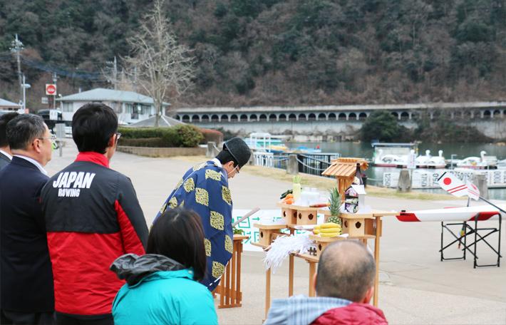 東京パラリンピック ボート祈願